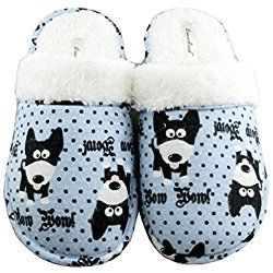 Dog Slippers For Women Slippers Womens Slippers Flannel