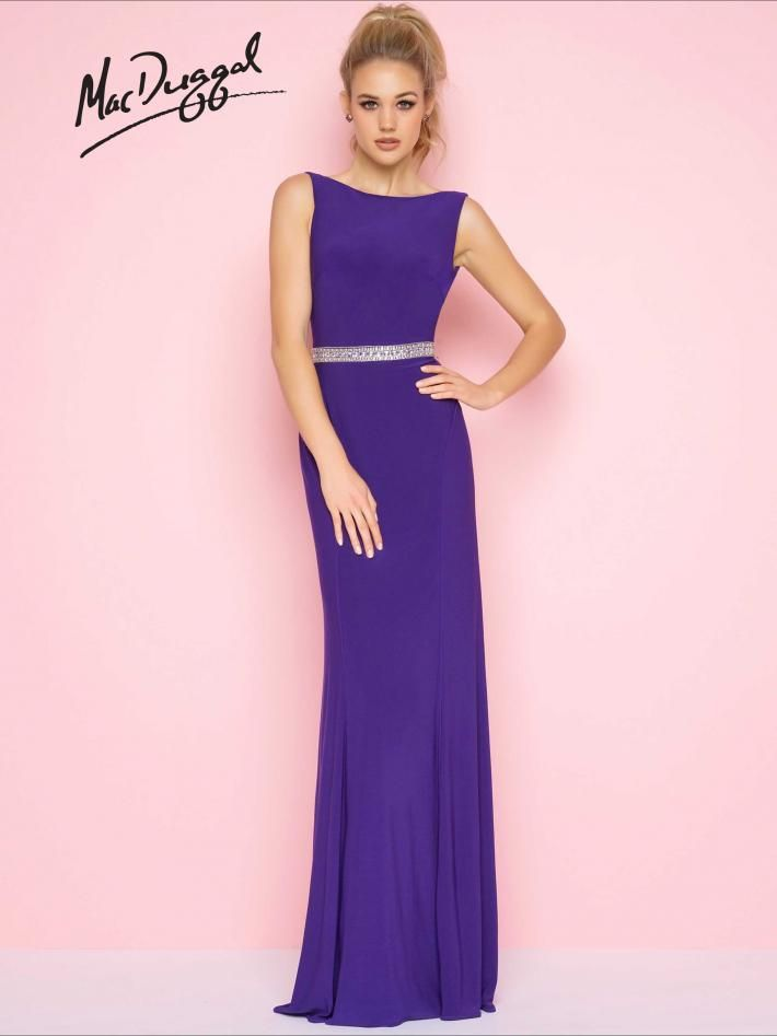 Boat Neck Prom Dress | Mac Duggal 25513L | Flash 2018 | Pinterest ...