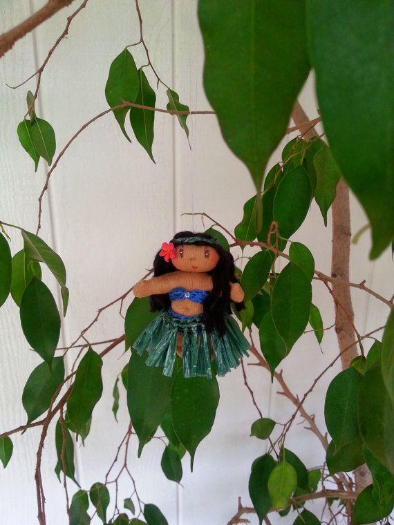 Aloha Doll Ornaments: Lulu (Peace)
