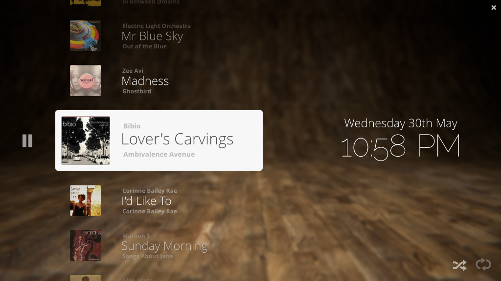 Music Player Party Interface by spiceofdesign deviantart com