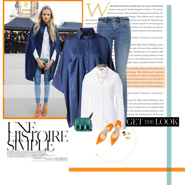 """Get the look: Gabriella Wilde"" by minnie-me on Polyvore"