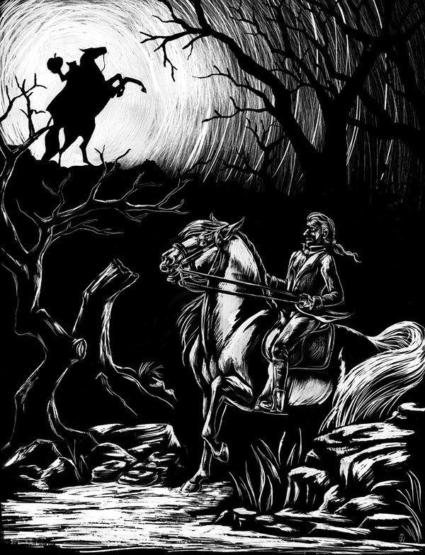 Headless Horseman Wallpaper Headless Horseman The Chase Begins By Lunatteo On Deviantart Headless Horseman Sleepy Hollow Headless Horseman Horror Fantasy