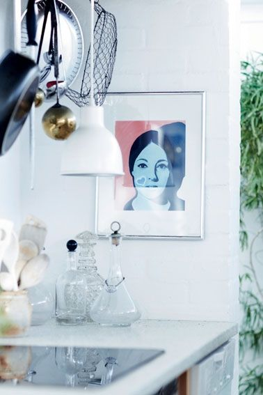 What Art can do for a home - via Coco Lapine Design