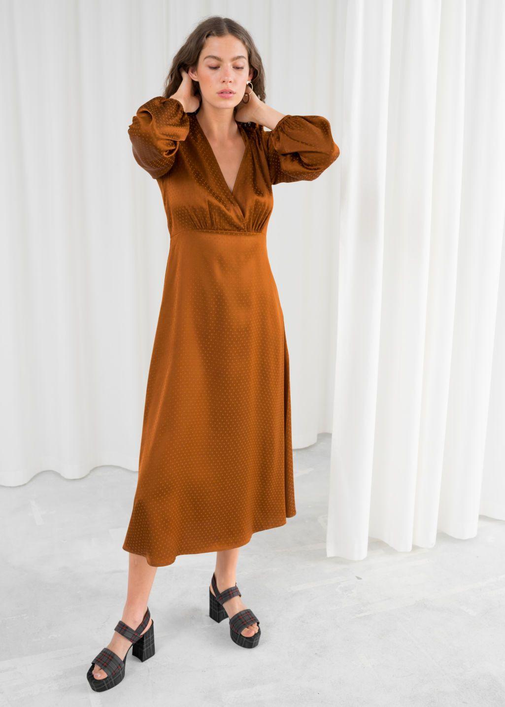 Jacquard Empire Midi Dress  Engagement party dresses, Maxi dress
