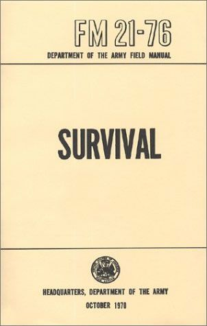 Amazon. Com: army field manual fm 21-76 (survival, evasion, and.