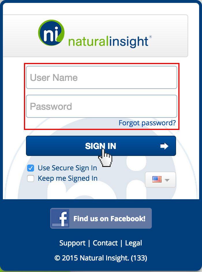Natural Insight Login Www Naturalinsight Com Sign In Guide