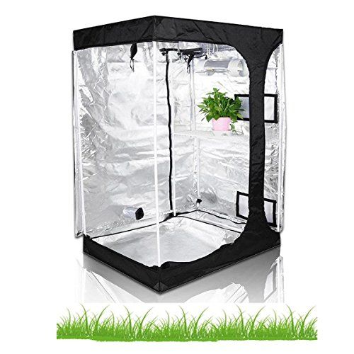 Hongruilite Hydroponic Indoor Grow Tent Room Propagation High Reflective Diamond Mylar Growing Plant w/Metal Corner Lodge Propagation Tent)  sc 1 st  Pinterest & Hongruilite 36