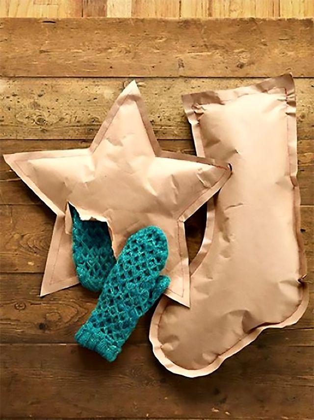 id es paquets cadeaux 3 id es avec du papier kraft fetes noel pinterest noel. Black Bedroom Furniture Sets. Home Design Ideas