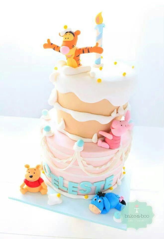pooh winniepooh tigger cake kuchen torte happybirthday geburtstag geburtstagskuchen. Black Bedroom Furniture Sets. Home Design Ideas
