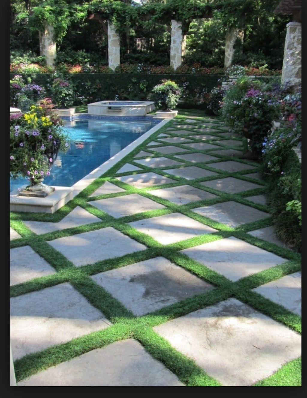 Pretty Grassless Backyard Landscaping Ideas31 Backyard Pool Landscaping Swimming Pools Backyard Pools For Small Yards Backyard landscaping ideas without pool
