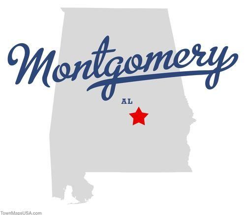 Montgomery Alabama | Map of Montgomery Alabama AL | Alabama AL ...