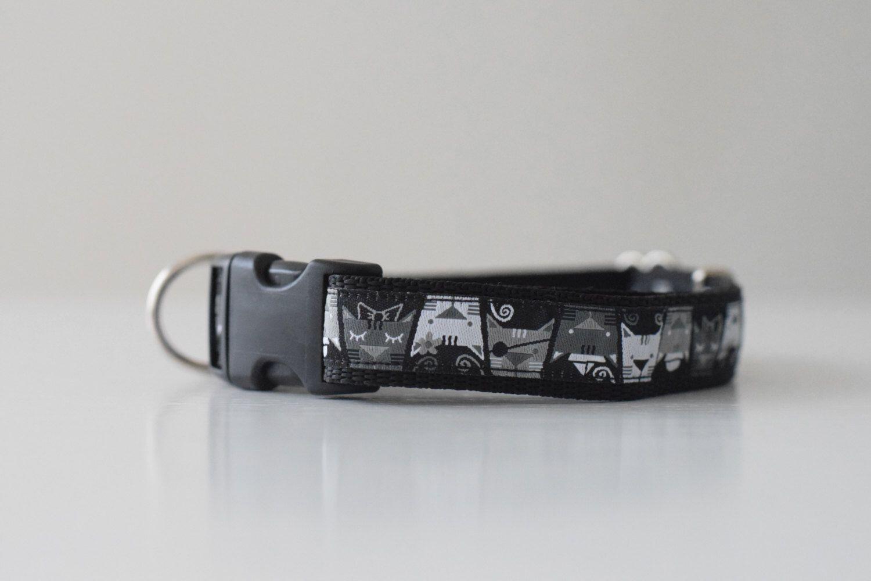 Dog collar, Adjustable dog collar, pirate dog collar, black dog collar, boy dog collar, hondenhalsband door LittleFoxNL op Etsy https://www.etsy.com/nl/listing/480687680/dog-collar-adjustable-dog-collar-pirate