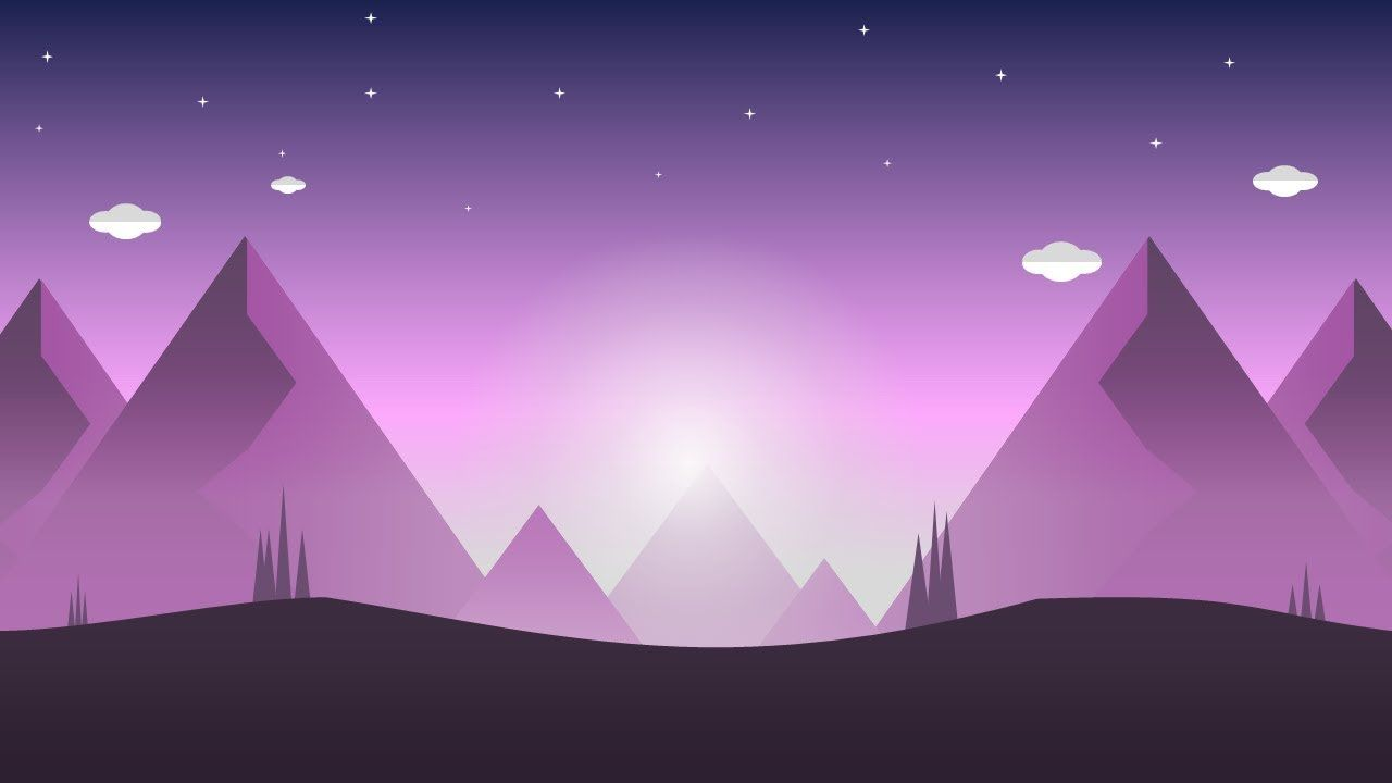 How To Create Flat Nature Graphics Background Abstract In Microsoft Off Powerpoint Design Templates Powerpoint Concept Design