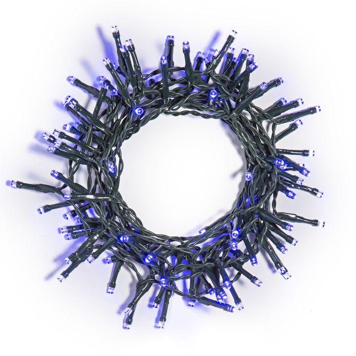 100 LED Blue Battery String Driftwood art Pinterest String