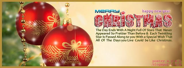 FB Merry Christmas Wishes Quote Facebook Timeline Happy New Year ...
