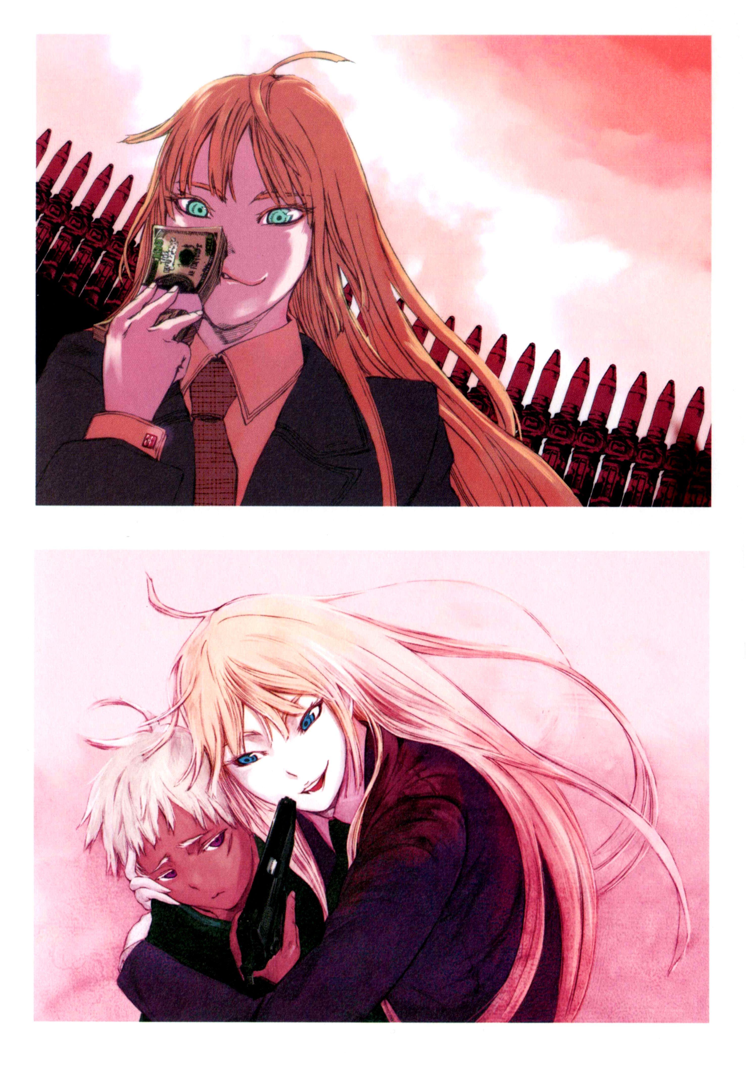 Anime Jormungand Manga Descendientes 2 Armas