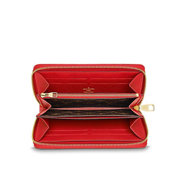 d5d526b43a1bf Zippy Wallet Monogram Canvas Small Leather Goods LOUIS