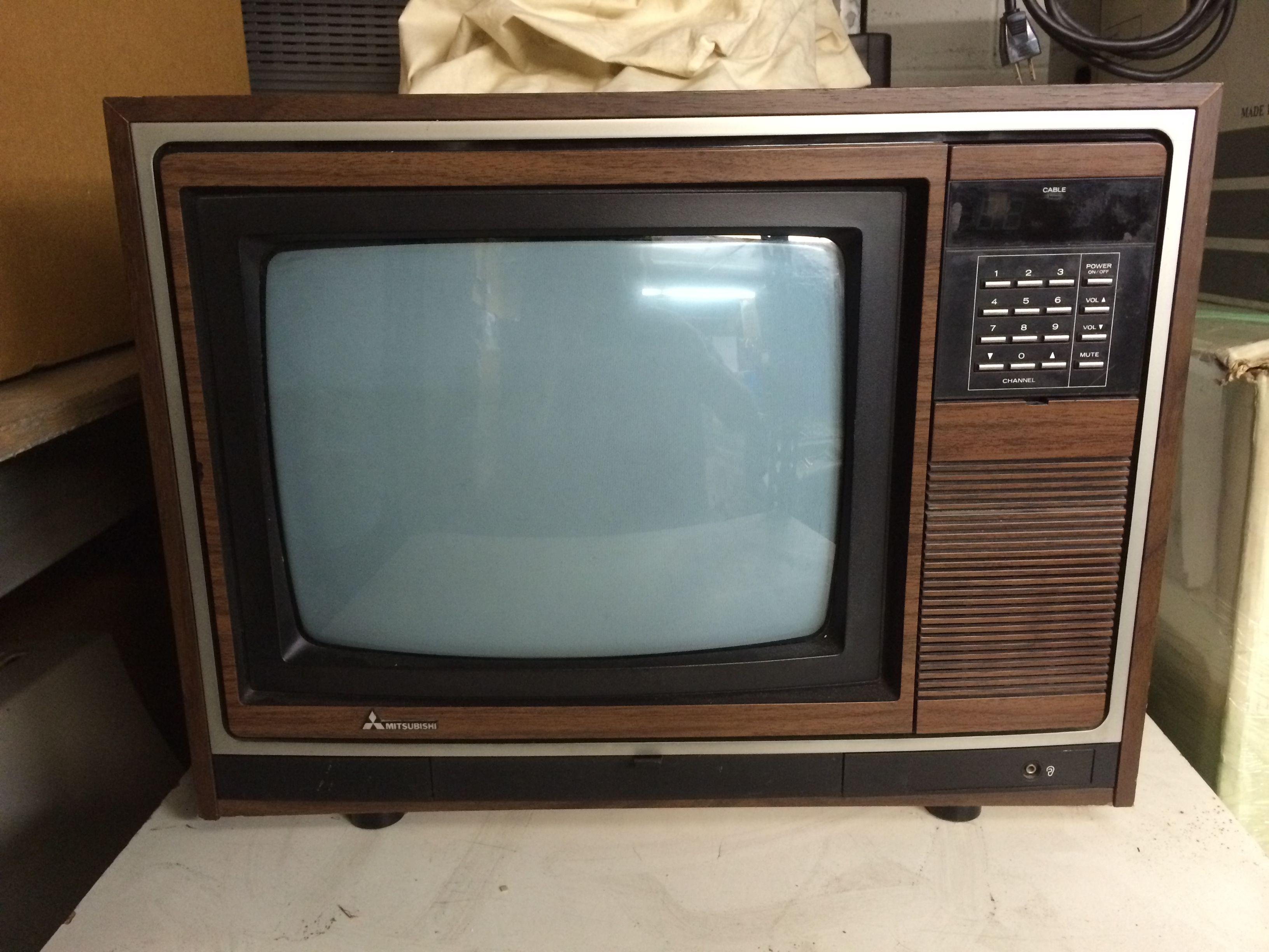 Pin By Bobby Kay On 80 S Vintage Tv Old Tv Television