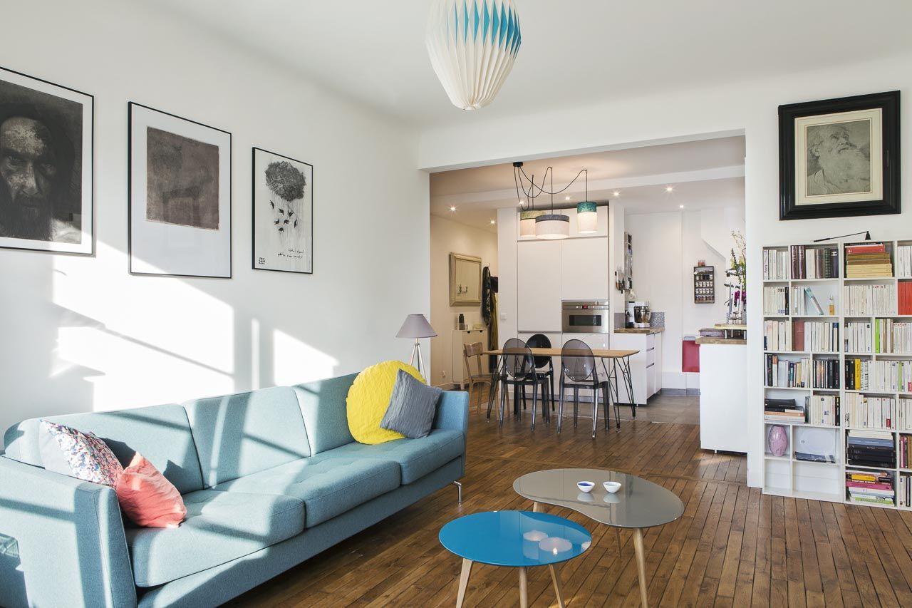 Appartement Décloisonné, Le Choix Du0027une Cuisine Ouverte