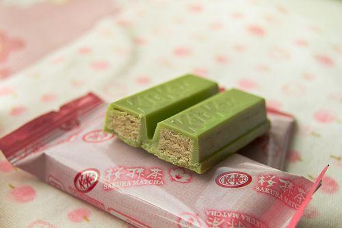 Japanese Green Tea KitKatPhoto via Flickr