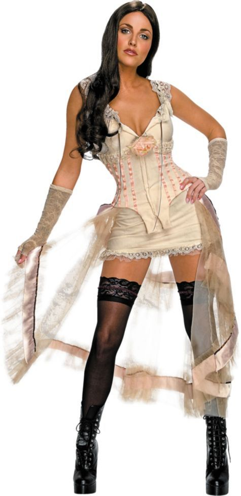 White Dress Lilah Costume ($4999) Jonah Hex - Party City ONLIINE - party city store costumes