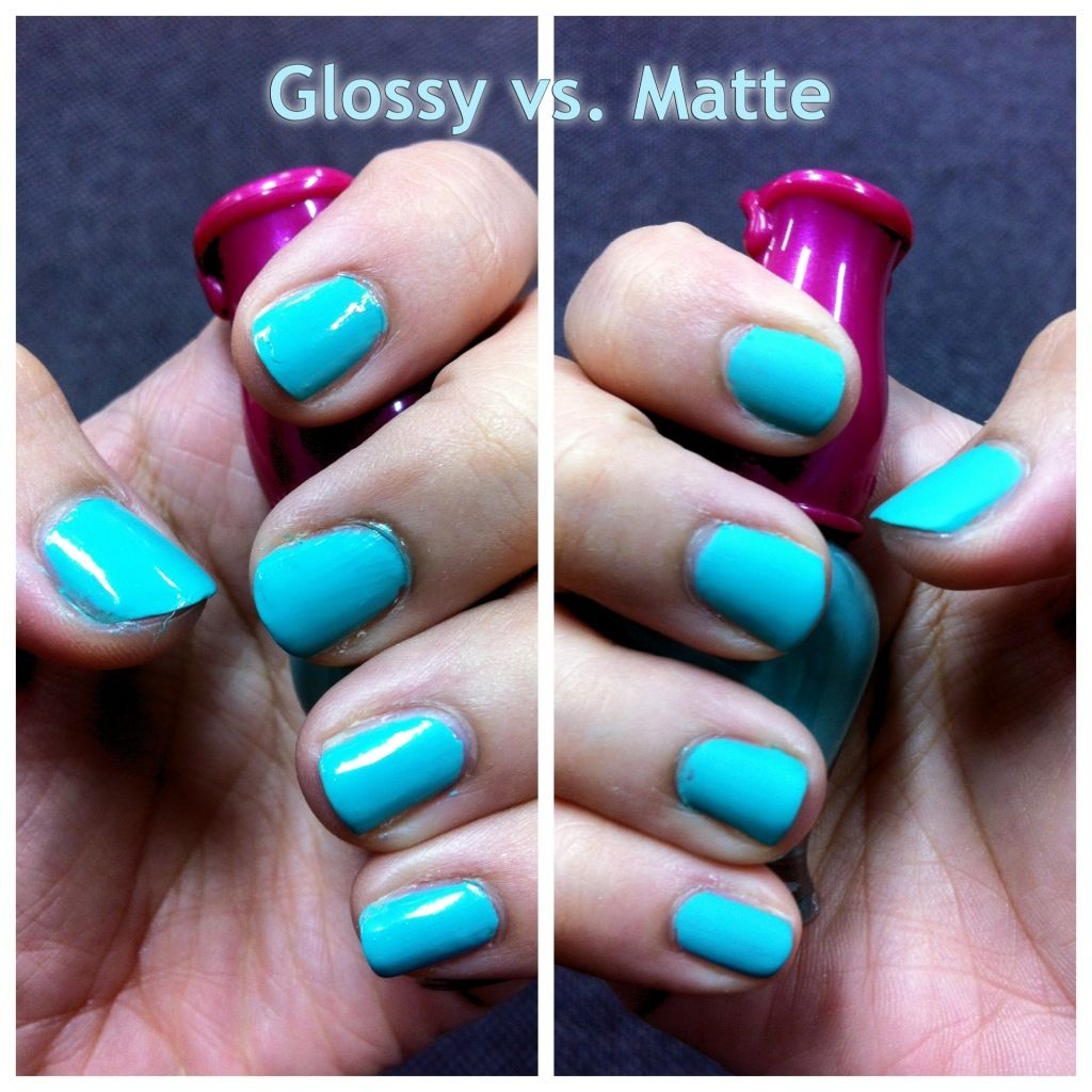 DIY matte effect nail polish. Looks like it could work. | My Style ...