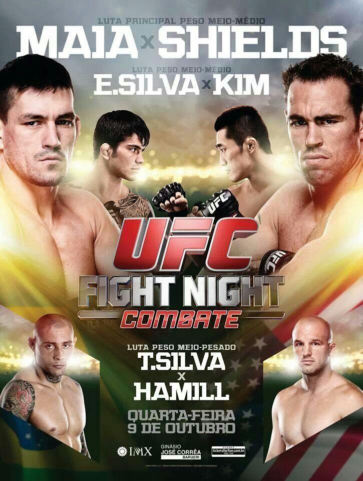 Ufc erick silva ufc fight night ufc events ufc