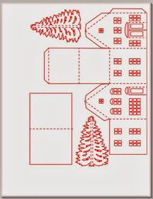 Ashbee design Silhouette Progetti: Tea Light Village Tutorial