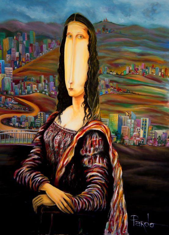 Mona Lisa [Oscar Pardo] (Gioconda / Mona Lisa)