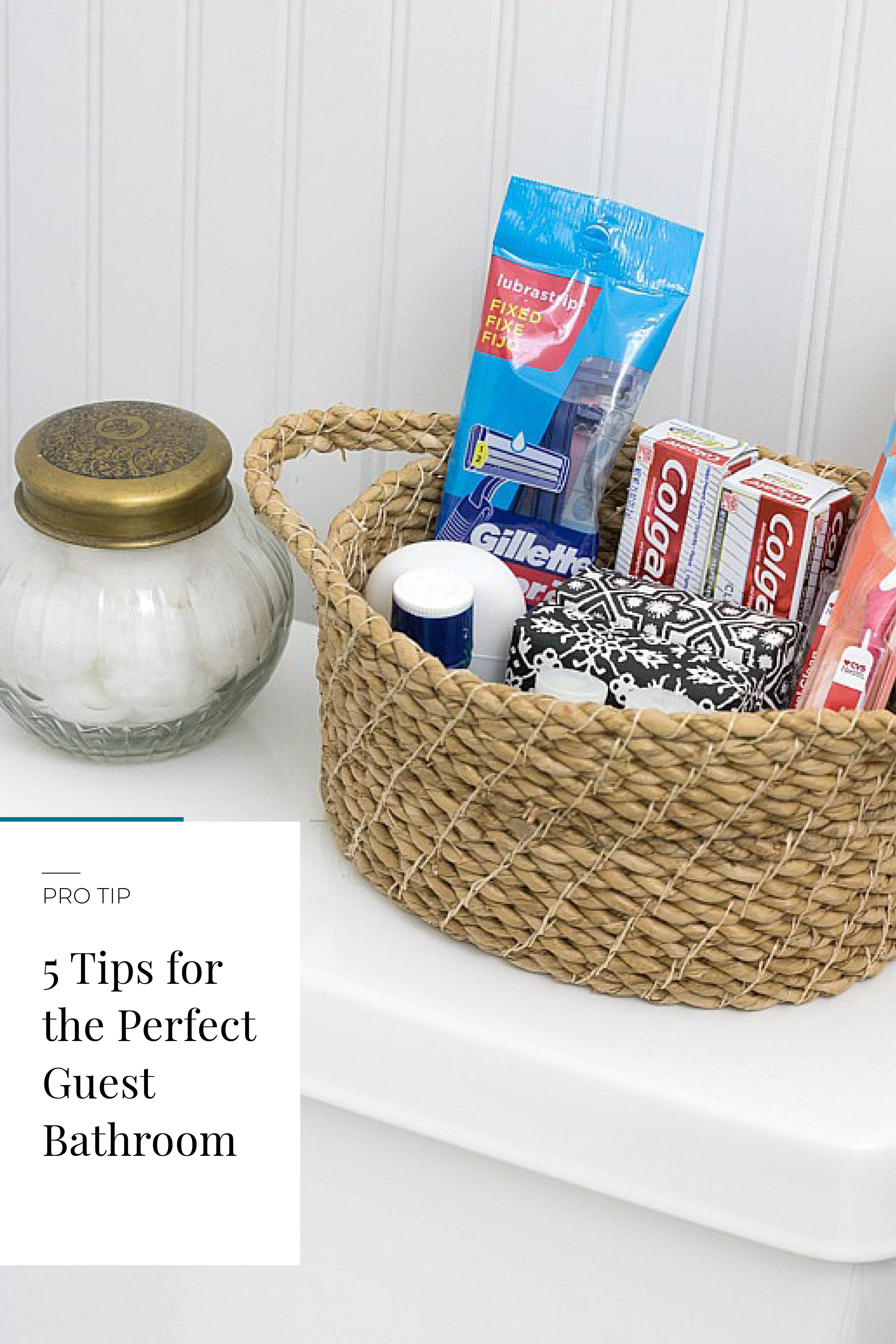 5 Tips For The Perfect Guest Bathroom Cozy Guest Rooms Guest Room Essentials Guest Bedroom Decor