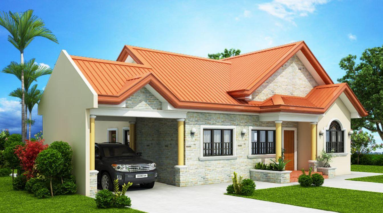 Plano de casa de 90m2 Planos de casas, Planos de casas