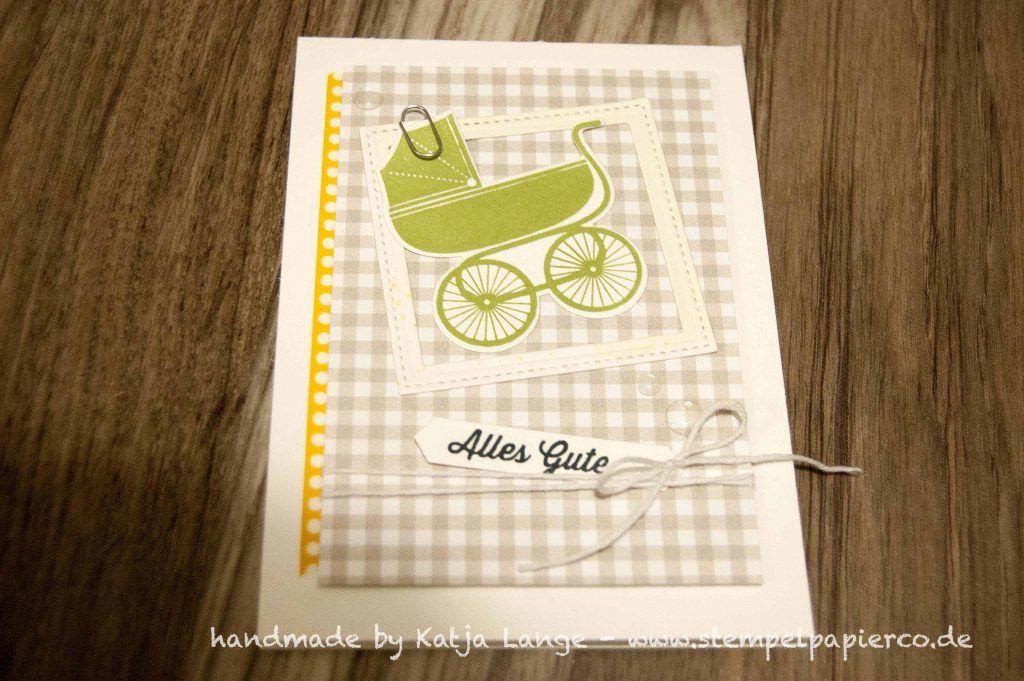alles gute zum abschied in die elternzeit babykarte mutterschutz stampin 39 up something. Black Bedroom Furniture Sets. Home Design Ideas