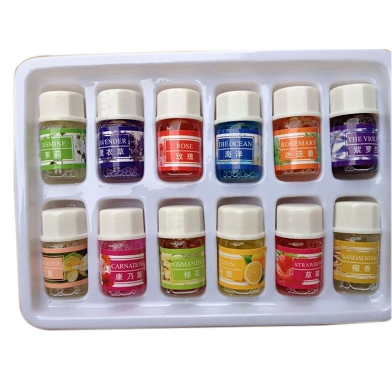3ml Essential Oils Pack For Aromatherapy Spa Bath Massage Skin