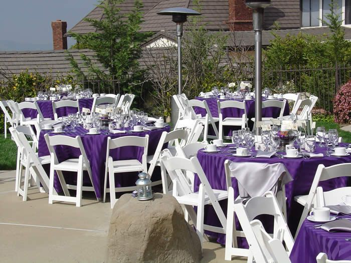 cheap wedding reception ideas and pictures elegant backyard reception source 1bp