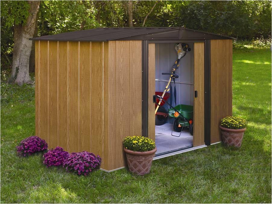 Abri de jardin Metal BM 116 m² L313 x P370 x H185 cm Metals - abris de jardin adossable