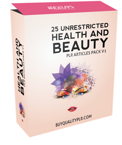 25 Plr Health And Beauty Articles Health And Beauty Health Articles