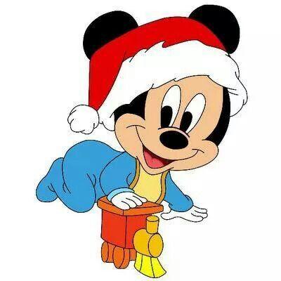 baby mickey disney pinterest baby mickey rh pinterest co uk mickey mouse christmas clip art free mickey mouse ears christmas clipart