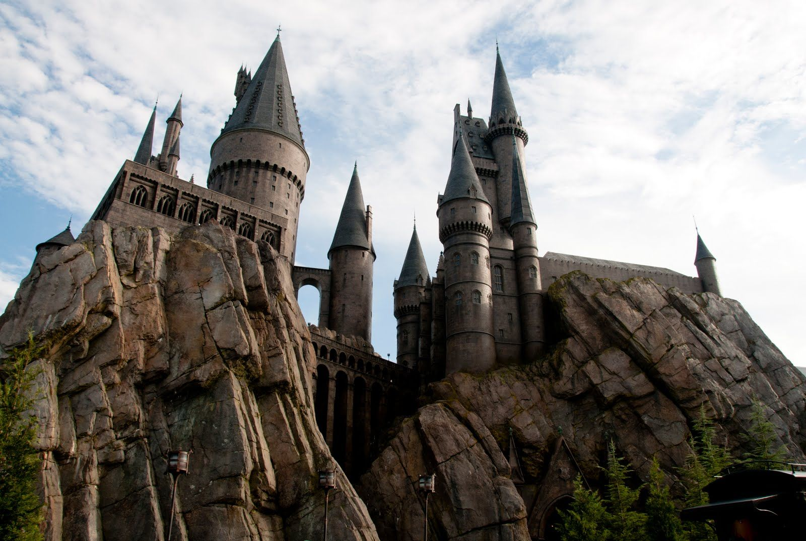 Harry Potter Land At Universal And Also Where The Real Filming Was Done In England Scotland