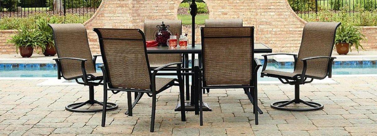 Garden Oasis Harrison 7 Piece Outdoor Furniture Set For 255 52