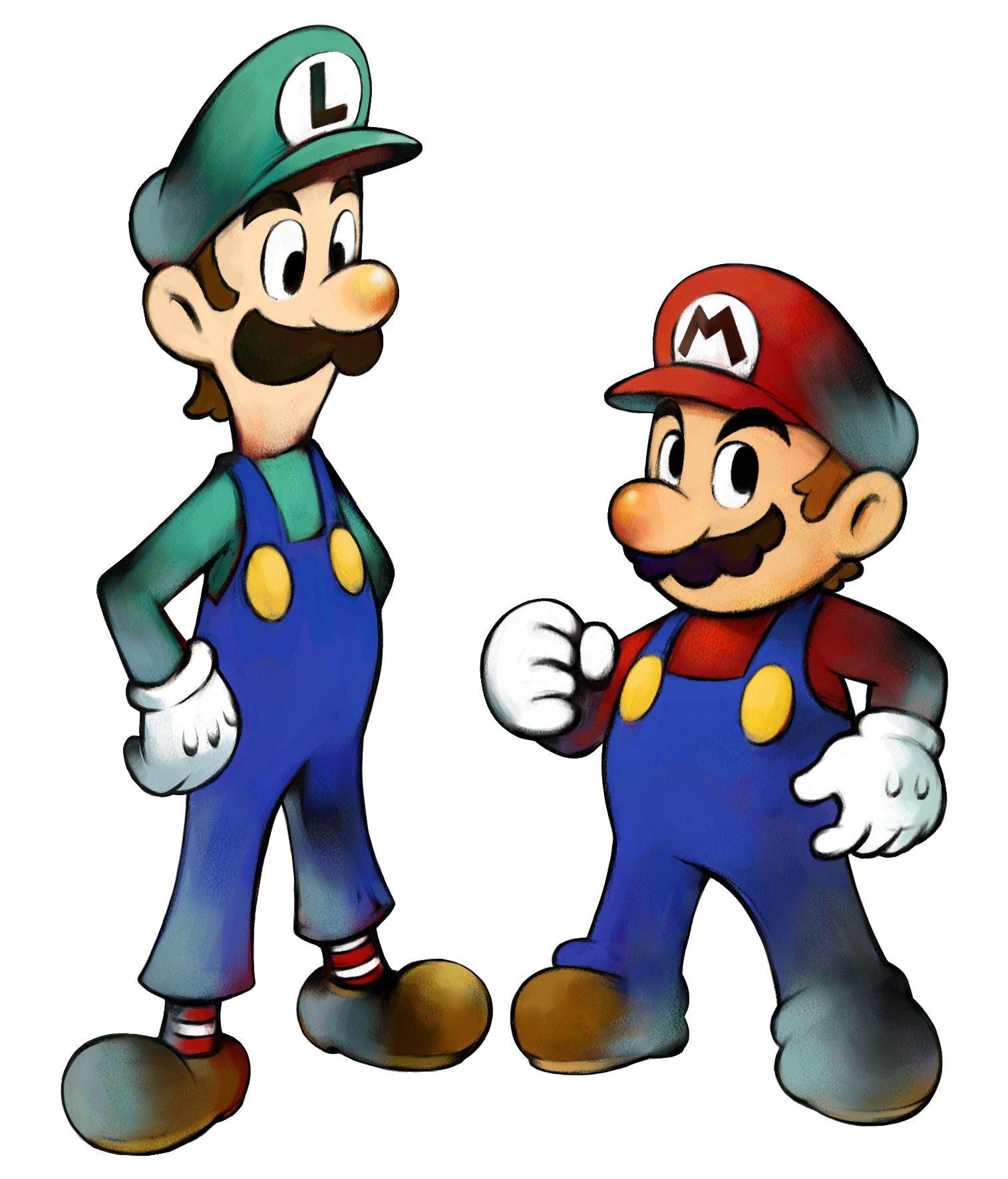 mario and luigi super mario
