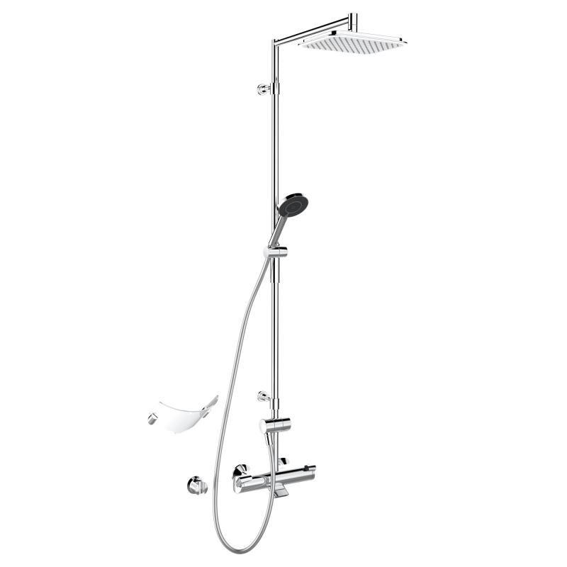 Hansa Fit thermostatic bath mixer (G 1/2) - 65162101 | Reuter Onlineshop