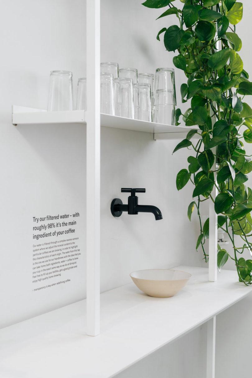 AENY Designs a Minimalist Coffee Shop for Scandinavian