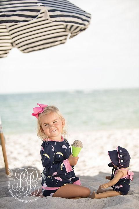 df0f50d4c0fda Winnie's Wave Spotter Swim Set - Sunshine on a Rainy Day with Hamptons - The  Beaufort Bonnet Company