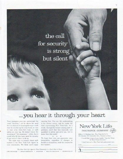 Pin By Jason W Woodland On Vintage Life Insurance Ads New York