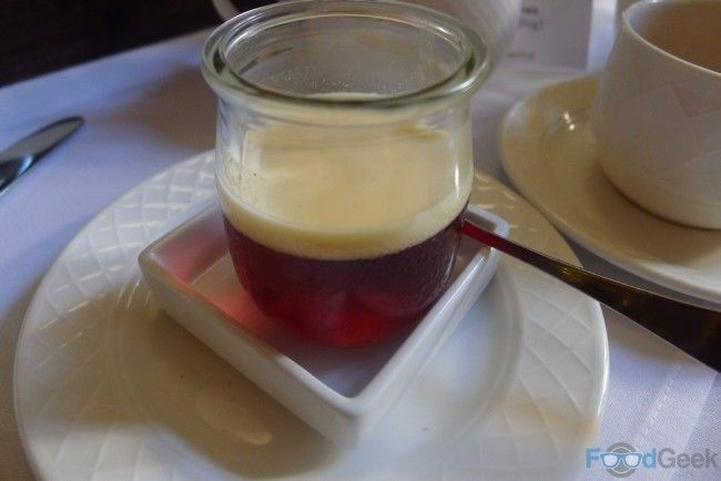 Vimto Jelly at The Midland Hotel, Manchester.