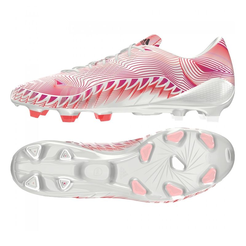 official photos cbc8c aa001 Adidas Predator Instinct Crazylight FG Soccer Cleats (WhiteSolar PinkSolar  Red). Order the super lightweight Adidas Crazylight soccer cleats at ...