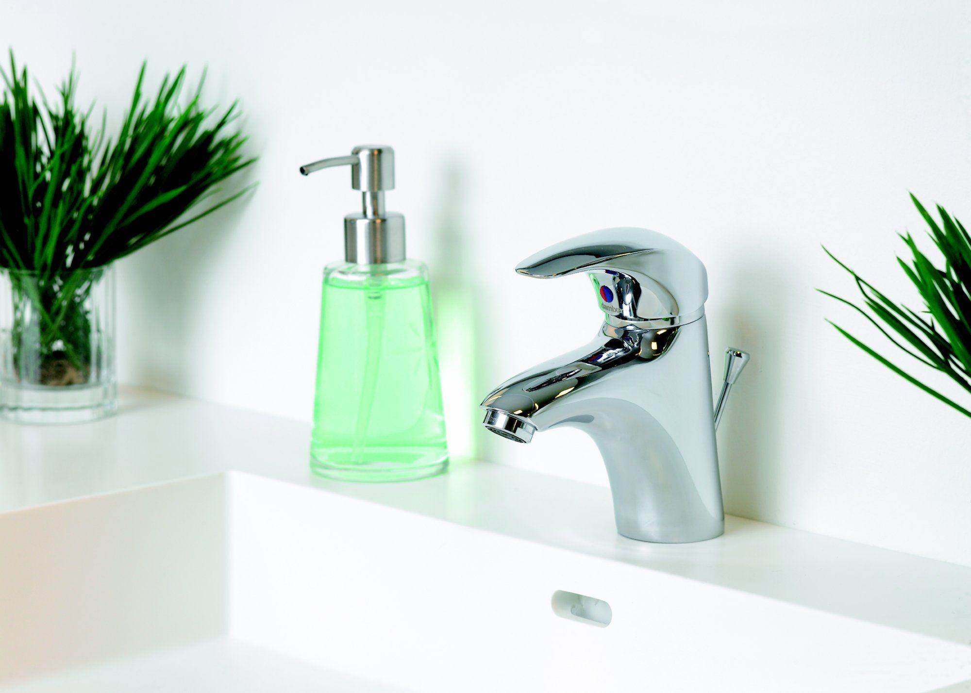 Damixa Space lavabokraan met trekwaste 10821.   Damixa Space mitigeur  lavabo avec vidage au tirette 10821. c59beb4c8592