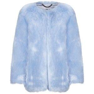 Thp Shop Baby Blue Faux Fur Coat Moda Estilo Moda Estilo