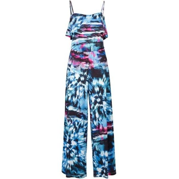 Attraktiver Overall mit Volant ($4,305) ❤ liked on Polyvore featuring accessories and volant