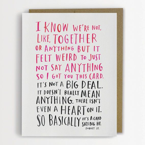 10 Clever Creative and NonCheesy Valentines Day Cards From Etsy – Funny Best Friend Valentines Day Cards